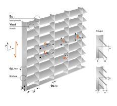تصویر و عکس مشخصات فنی گریتینگ تسمه در تسمه